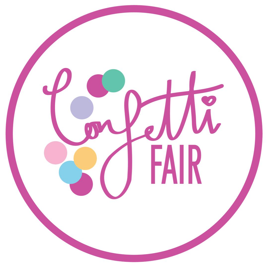 Confetti Fair Round Logo